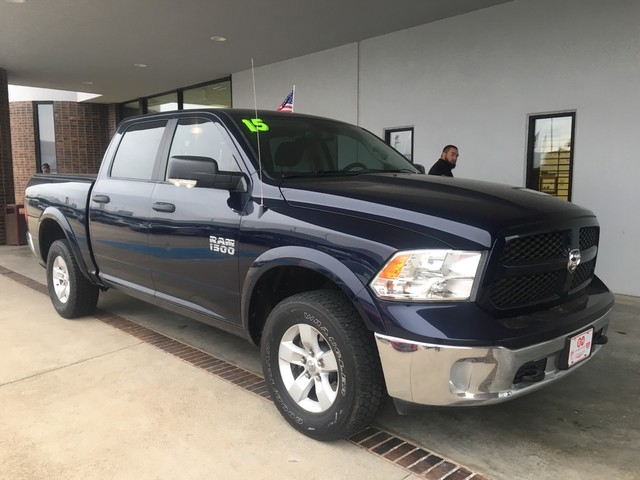 Certified Pre-Owned 2015 Ram 1500 Outdoorsman | POWER SEAT | TOW | BACKUP CAM