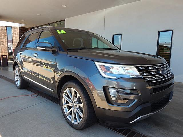 PRE-OWNED 2016 FORD EXPLORER LIMITED | BOB HOWARD DODGE 405-936-8900 FOUR  WHEEL DRIVE SUV