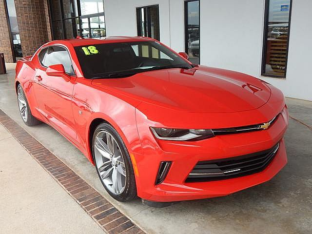Pre-Owned 2018 Chevrolet Camaro LT | BOB HOWARD DODGE 405-936-8900