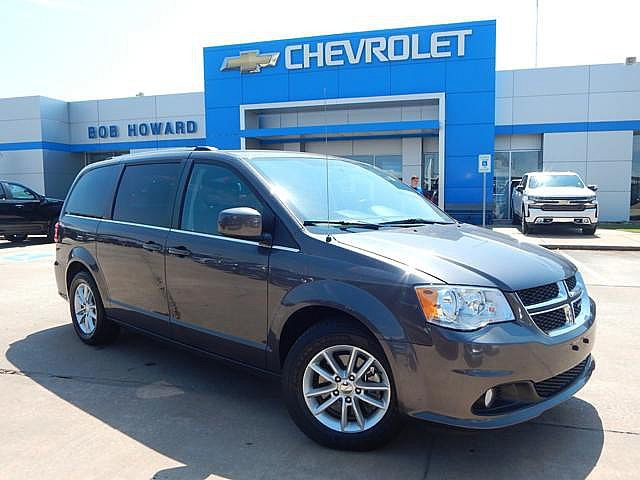 PRE-OWNED 2018 DODGE GRAND CARAVAN | BOB HOWARD CHEVROLET 405-748-7700 |  LEATHER SEATS | CLEAN CARFAX | ONE OWNER | BACK UP CAMERA | UCONNECT