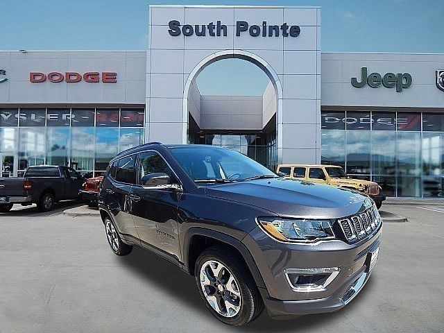 Certified Pre-Owned 2019 Jeep Compass Limited | CERTIFIED | LEATHER | 4WD | APPLE CAR PLAY | SOUTH POINTE CJD