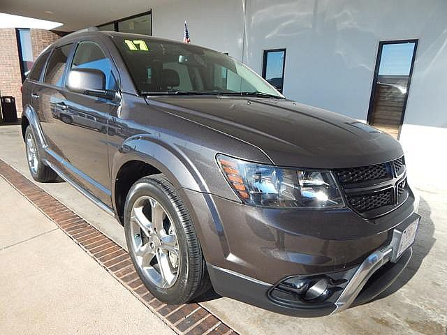 Certified Pre Owned 2017 Dodge Journey Crossroad Leather Third Row Seat