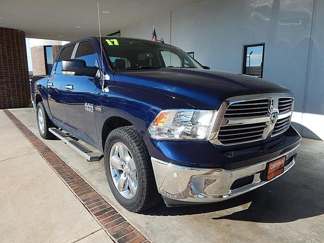 Certified Pre-Owned 2017 Ram 1500 Big Horn | 2WD | LOW MILES | BACKUP CAM |