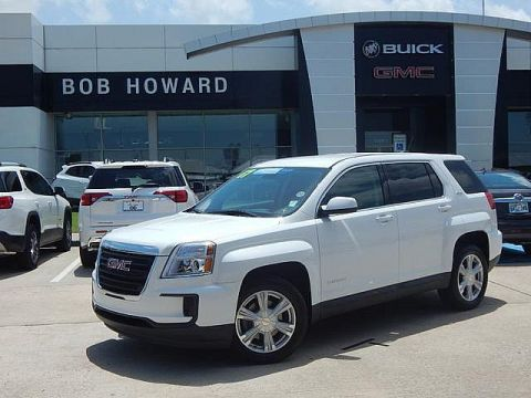 Pre-Owned 2017 GMC Terrain SLE | BOB HOWARD BUICK GMC 405.936.8800 | 1 OWNER CLEAN CARFAX | LOW LOW MILES | ALLOY WHEELS | KEYLESS | PW PL