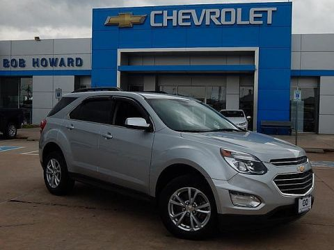 Pre-Owned 2016 Chevrolet EQUINOX | BOB HOWARD CHEVROLET 405-748-7700 | GREAT MPGS | BACK UP CAMERA | ROOM FOR FIVE | PREMIUM WHEELS | ONE OWNER |