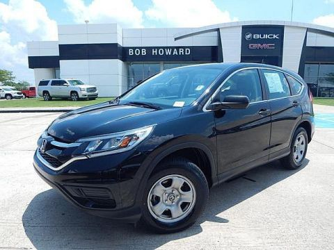 Pre-Owned 2016 Honda CR-V LX BOB HOWARD BUICK GMC 05.936.8800 | 1OWNER CLEAN CARFAX | LOW MILES | GREAT MPG!