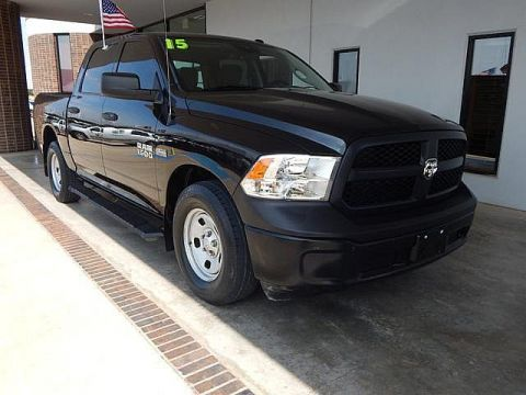 Certified Pre-Owned 2015 Ram 1500 Tradesman | BOB HOWARD DODGE 405-936-8900 | TOW PACKAGE