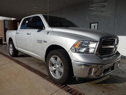 Pre-Owned 2017 Ram 1500 Big Horn | 4WD | POWER SEAT | CLEAN CARFAX