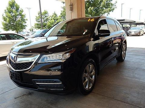 Pre-Owned 2016 Acura MDX w/Advance | 1 OWNER | LOW MILEAGE | ONLY AT BOB HOWARD ACURA CALL TODAY AT 405-753-8770!|