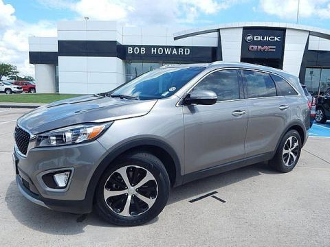 Pre-Owned 2017 Kia Sorento EX | BOB HOWARD BUICK GMC 405.936.8800 | LEATHER | PANO ROOF | 1 OWNER CLEAN CARFAX | TOW PACKAGE