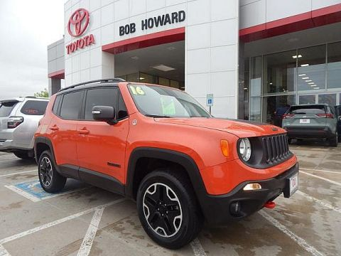 Pre-Owned 2016 Jeep Renegade Trailhawk***CALL BH TOYOTA***405-936-8600***